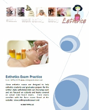 Esthetics test practice for state board exam ebook